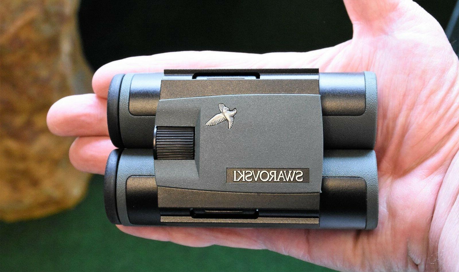 Swarovski 10x25 Green Binocular 46211