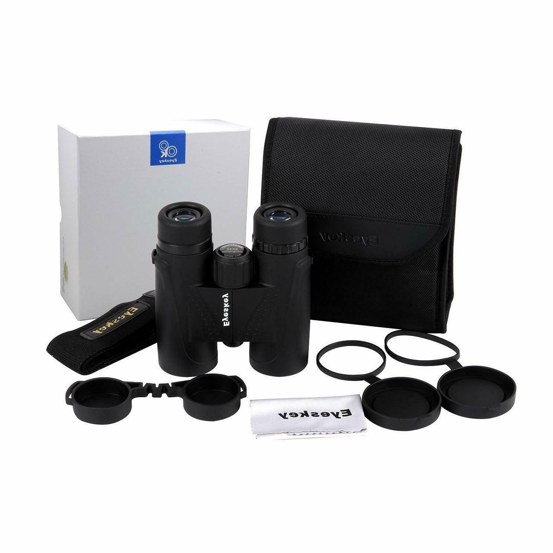 Eyeskey 10x42 Binoculars for Adults BAK4 Roo
