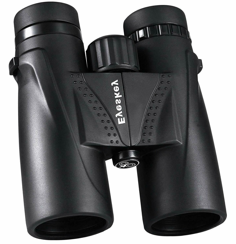 Eyeskey Classic HD 10x42 Binoculars for Adults | Waterproof