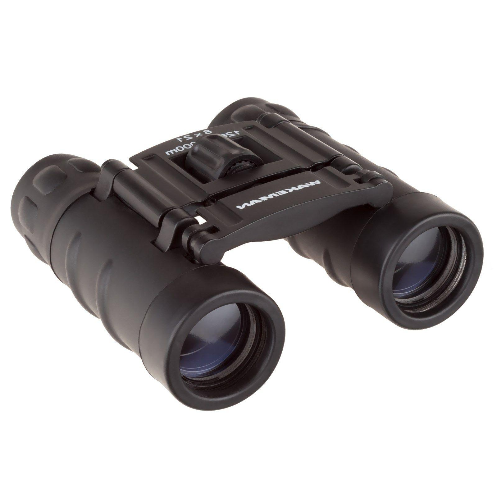 8 x 21mm Compact Binoculars Pocket Size Folding & Adjustable