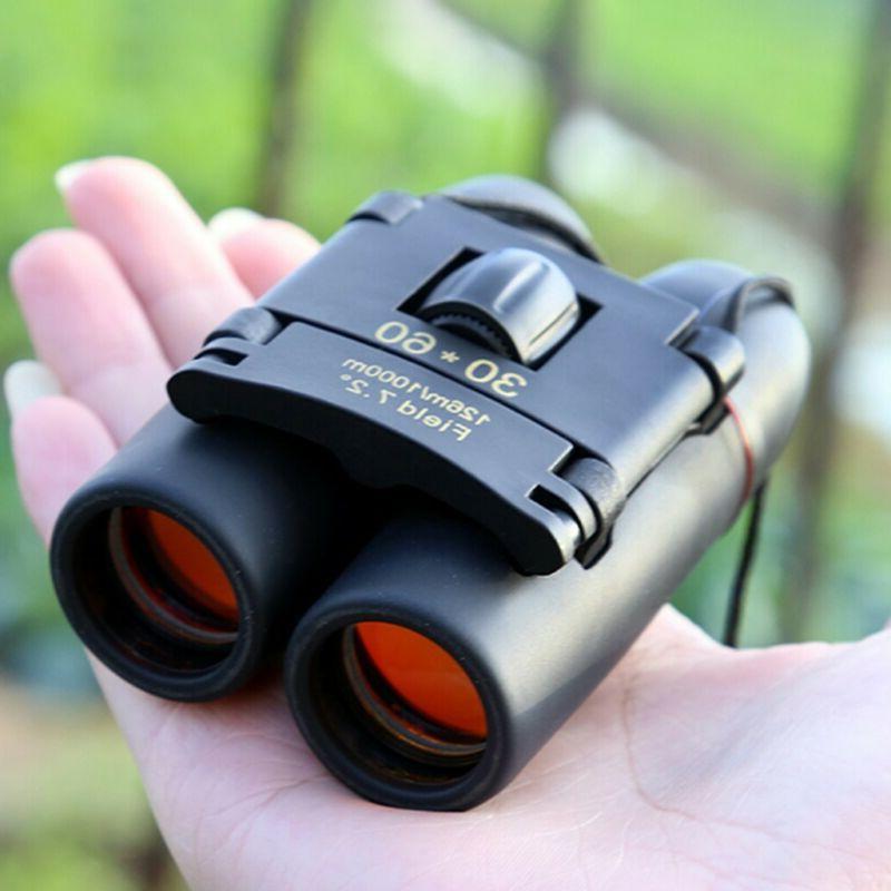 Day Binoculars 30 60 Zoom Conpact Folding Telescope New
