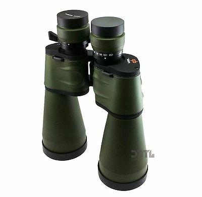 Day/Night HUGE Power Zoom Military Binoculars Pouch