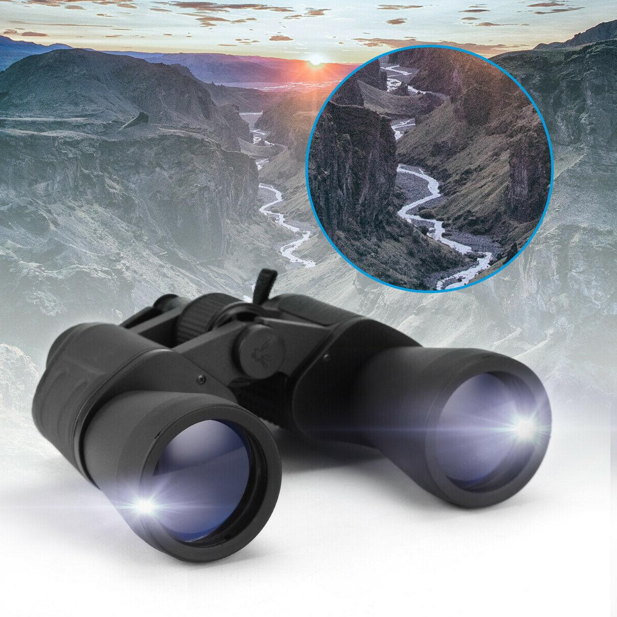 180x100 Zoom Day & Night Vision Outdoor Travel Binoculars Hu