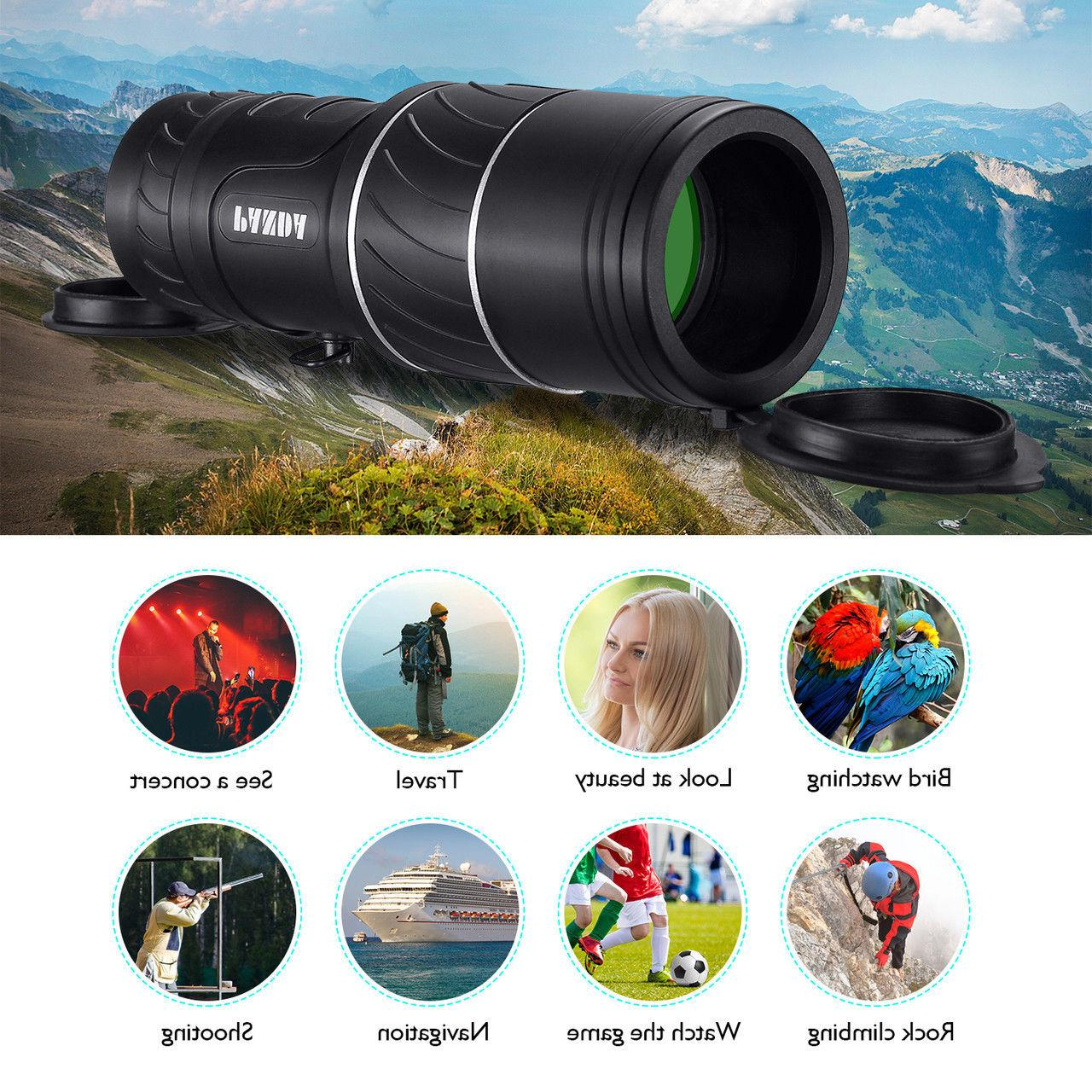 Day Night 40*60 Hunting Powerful Hunting Camping Telescope