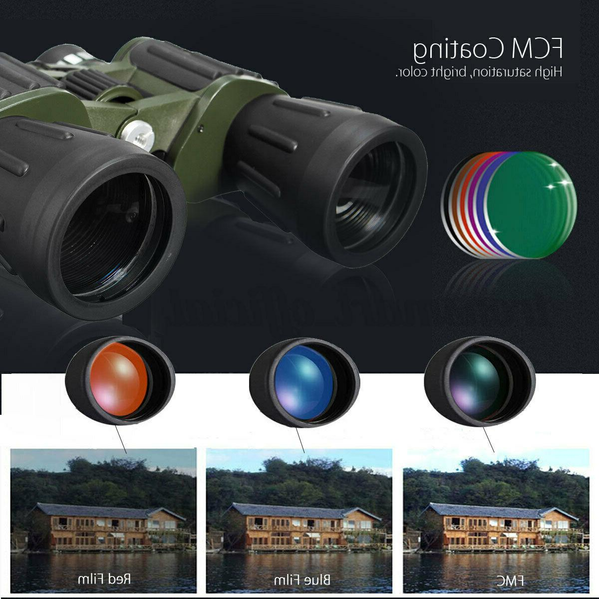 Day Military Powerful Binoculars Optics Hunting