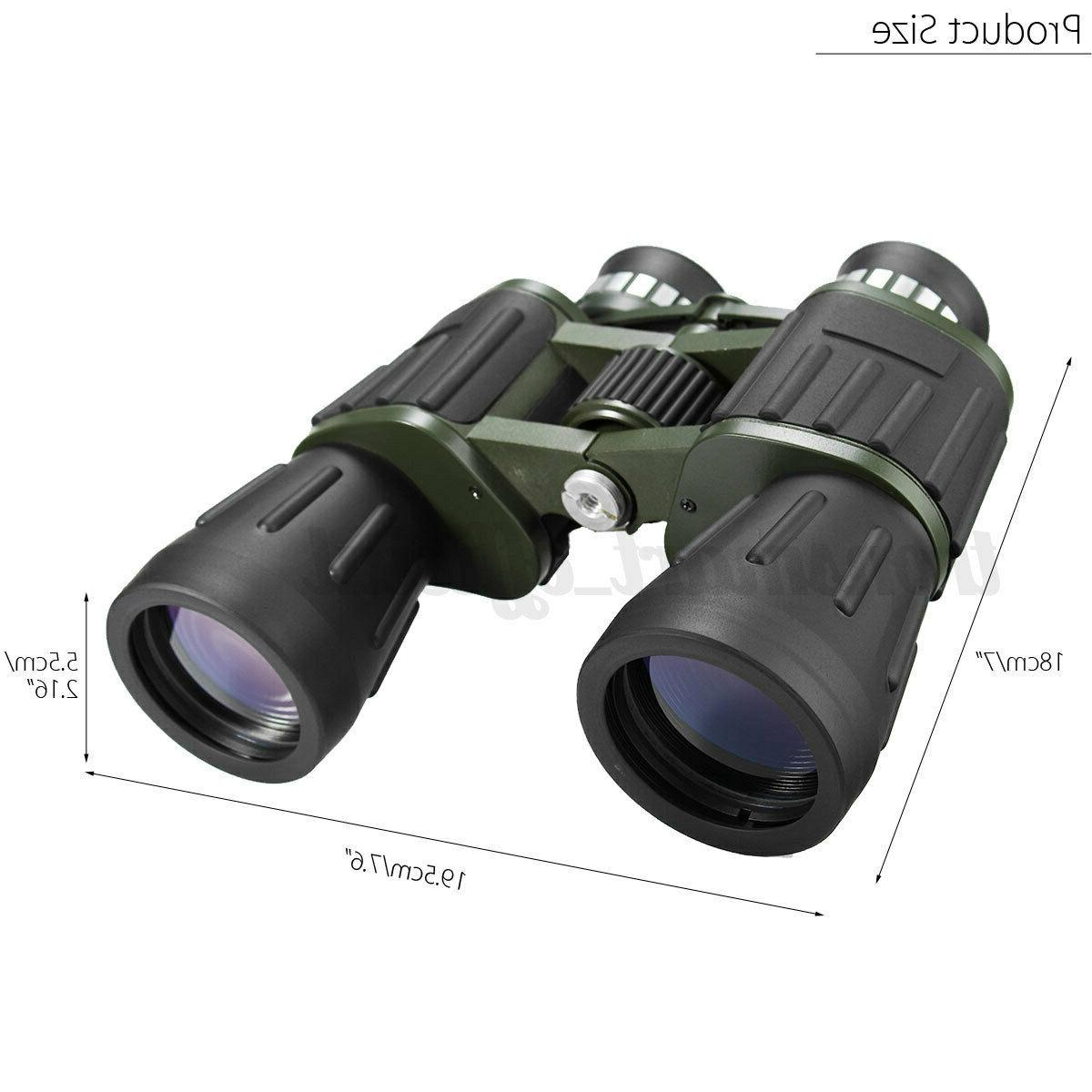 Day Night 60x50 Military Binoculars Optics Camping