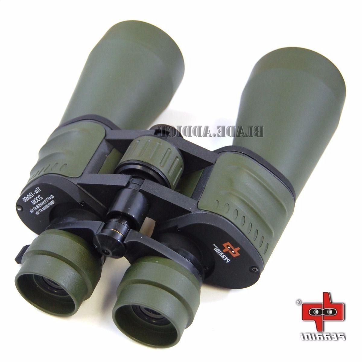 Day/Night 10x-120x90 HUGE Military Power Zoom Binoculars w P