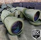 Day/Night 60X50 MILITARY Army BINOCULARS CAMOUFLAGE Outdoor