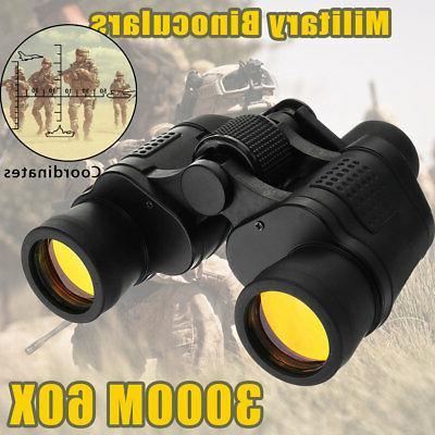 Day/Night 60x60 Army Zoom HD Binoculars