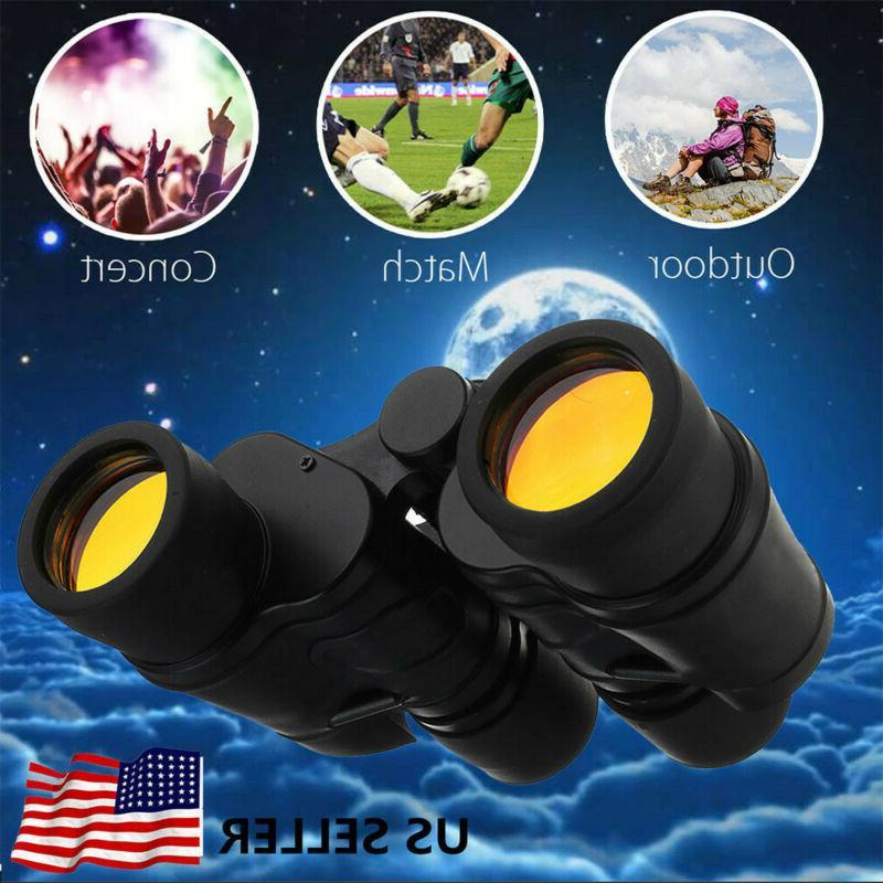 60X60 Vision Outdoor Travel Binoculars Hunting Telescope+Case