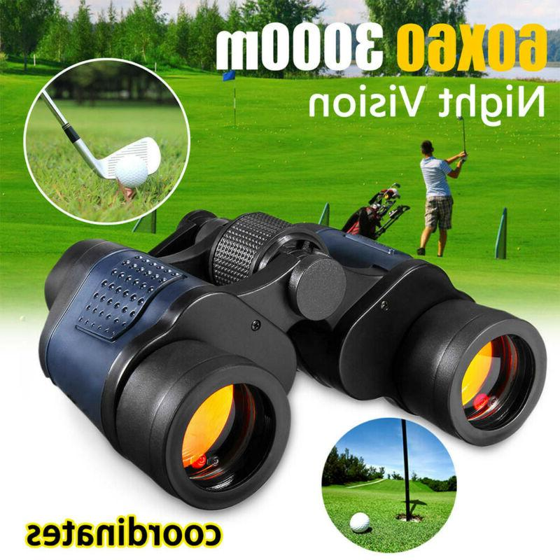 60X60 Vision Outdoor Binoculars Telescope+Case