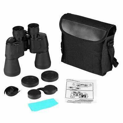 Outdoor 10x50 Zoom Waterproof Day Binoculars Telescope Bag