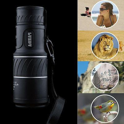 Day Night 40x60 HD Monocular Hunting Camping Telescope