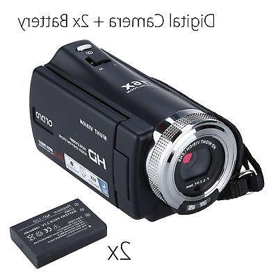digital camera camcorder 16x dvr ir night