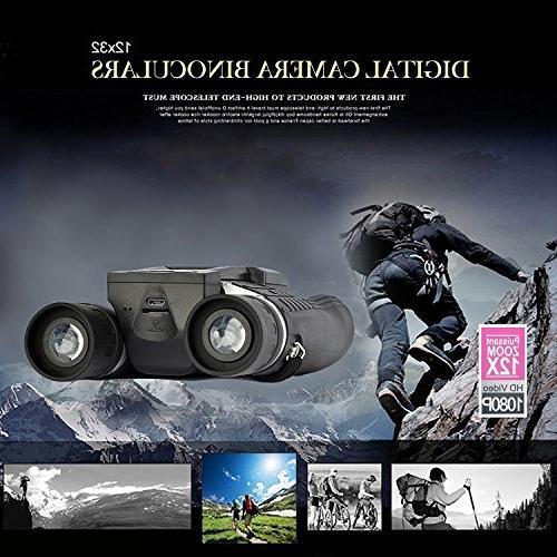 "Eoncore 2"" Digital Camera 5MP Photo Recorder Digital Telescope Watching Football + Free 8GB TF Card"