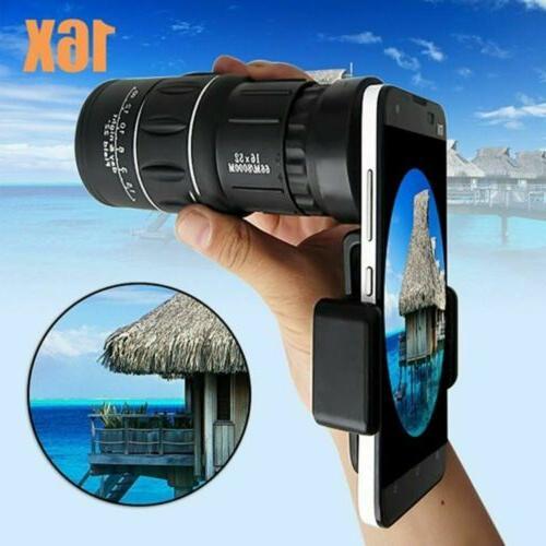 dual focus optic lens armoring monocular telescope