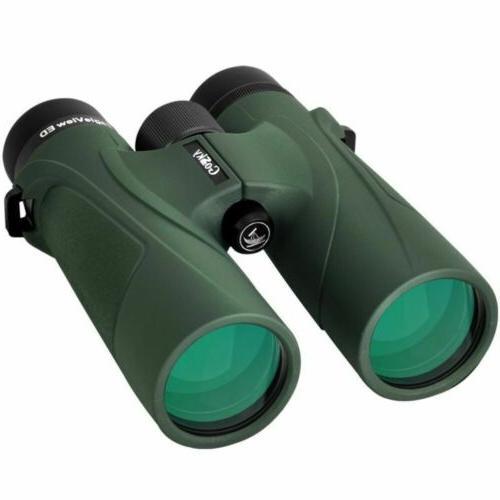 eagleview 8x42 binoculars waterproof ed glass