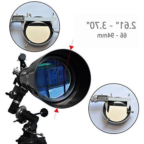 Gosky Eclipse - Telescope Binocular Scope Filter Sun Filter for eclipse August