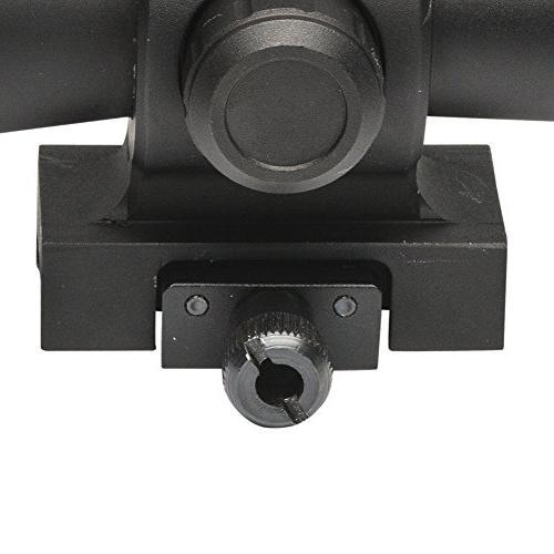 Firefield FF13061 Barrage Riflescope, 1.5-5x32mm, 30mm Mil-Dot