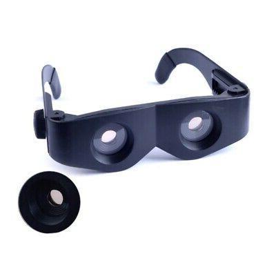 Fishing Telescope Binocular Magnifier Adjustable Glasses