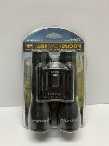 focusview 16x32 binocular black water resistant