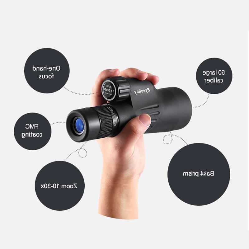 FSTE <font><b>Eyeskey</b></font> <font><b>Monocular</b></font> Bak4 Astronomical Zoom Telescope Waterproof Goods