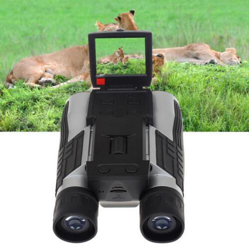 Digital Binoculars Photo W/ Support