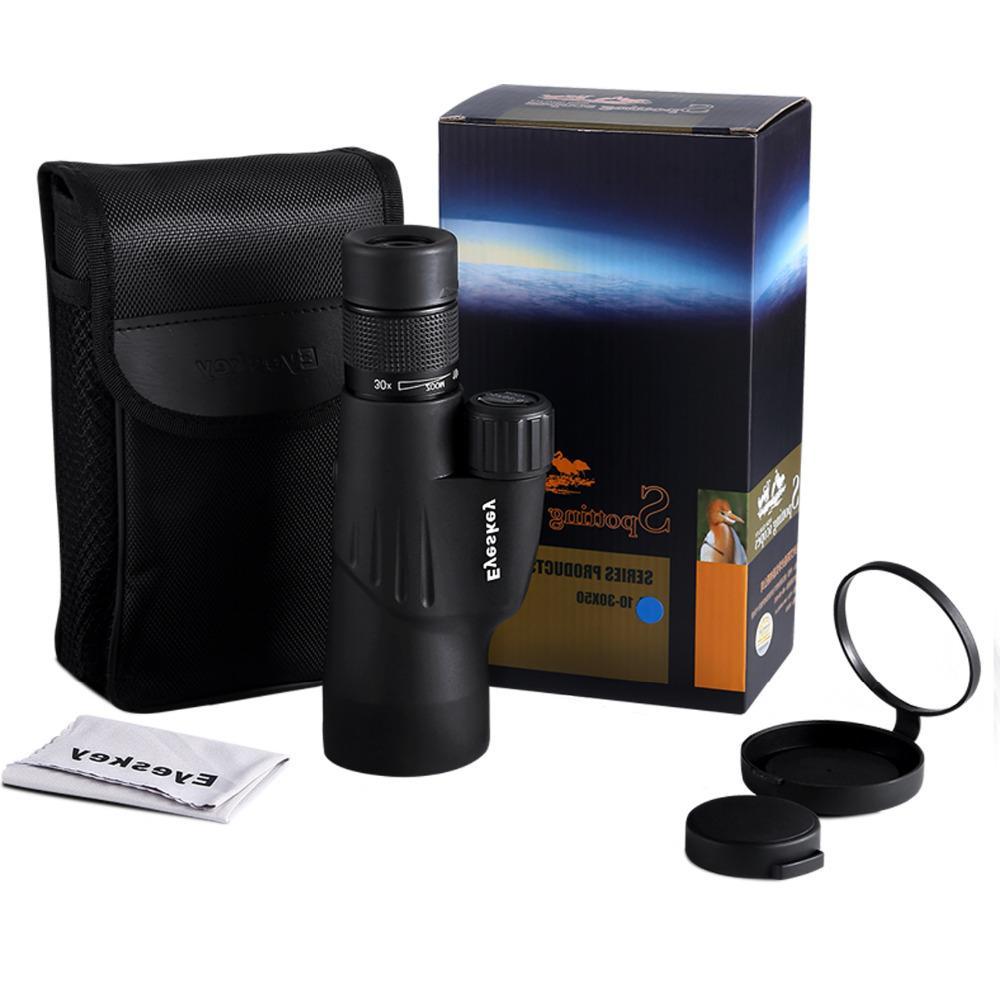 FSTE 10-30X50 Bak4 Zoom Telescope Waterproof Goods For