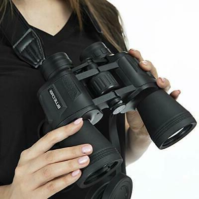 BlueCabi Full Size 10x50 Binoculars High Heavy Duty