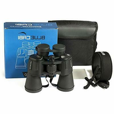 BlueCabi Full 10x50 Binoculars – High Heavy Binoculars