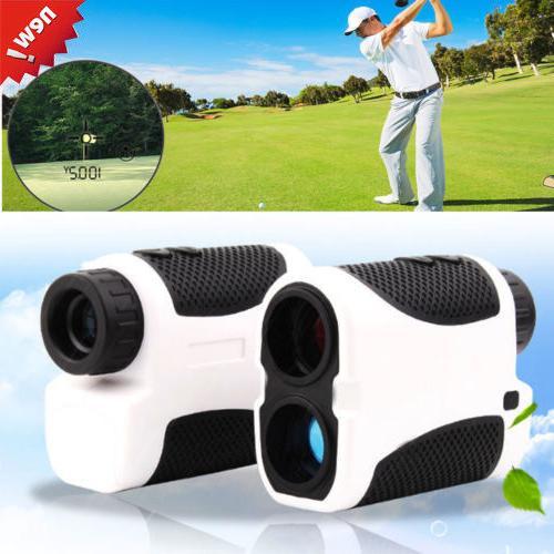 Golf Laser Range Finder Monocular Handheld Angle Scan Pinsee