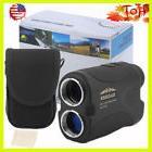 Golf Laser Rangefinder Binocular w/ Pinsensor Scan Mode Hunt