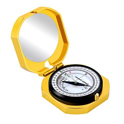 Eyeskey Compass Activities, High Accuracy, Shakeproof, Golden