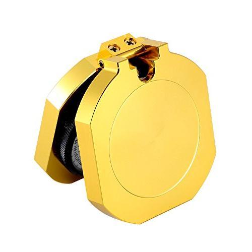 Eyeskey Top-Grade Compass for High Shakeproof, Golden Luxury