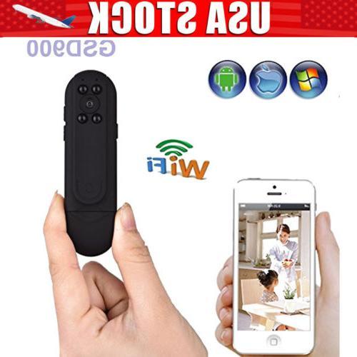 1080P HD Police Body Worn Camera Pocket IR Night Vision WiFi