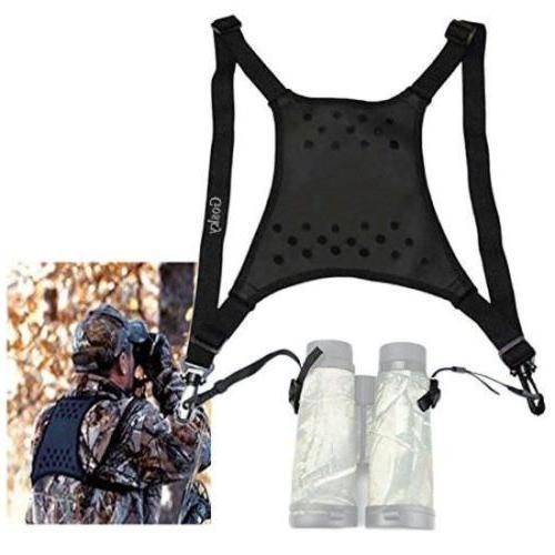 harness strap deluxe shoulder neck sling binocular