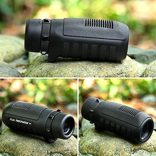 Wingspan Optics Wide Compact Delivers Bright, Clear, Sharp Ultra-Rugged Waterproof,