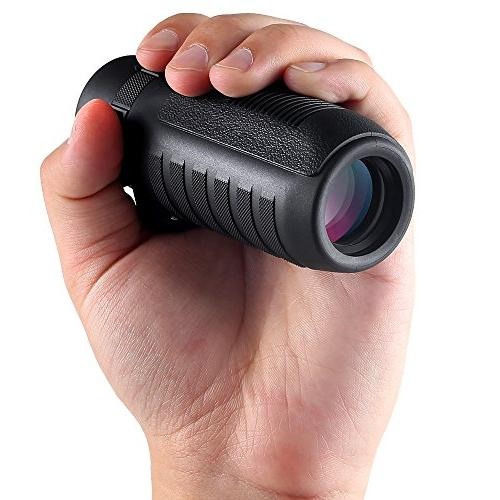 Wingspan Optics Wide Monocular Delivers Sharp in Ultra-Rugged Waterproof, Proof,