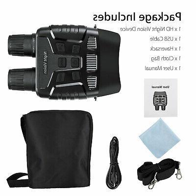 HD Video Night Vision Binoculars IR