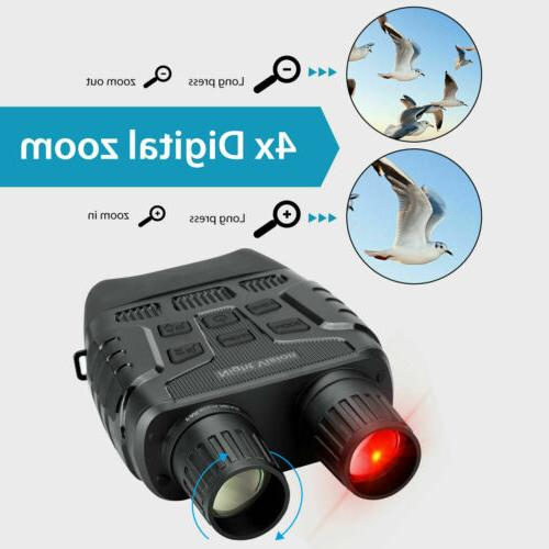 HD 4x Digital Binocular Night Vision Telescope Infrared IR C