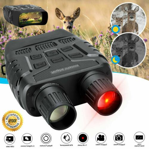 HD Digital Night Vision CAMERA Infrared Hunting Binoculars S