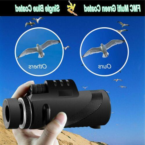 40X60 with Vision BAK4 Power Waterproof