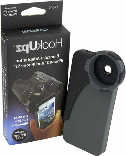 Carson HookUpz For iPhone Digiscoping Adapters for Most Full