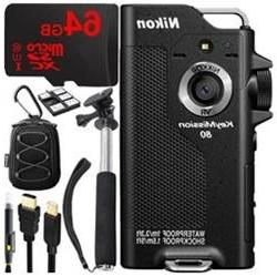Nikon KeyMission 80 Full HD Action Camera with Built-In Wi-F