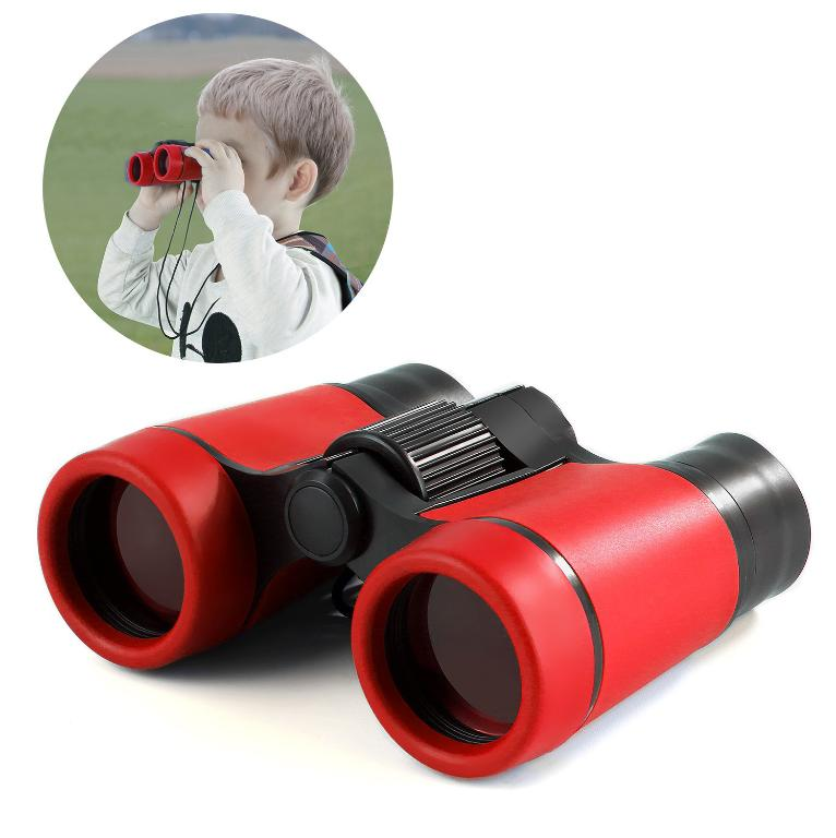 Kids Toy Binoculars | Compact For Bird Watching, Stargazing,