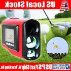 600 Meter Laser Golf Range Finder 6xZoom LCD Screen For Golf