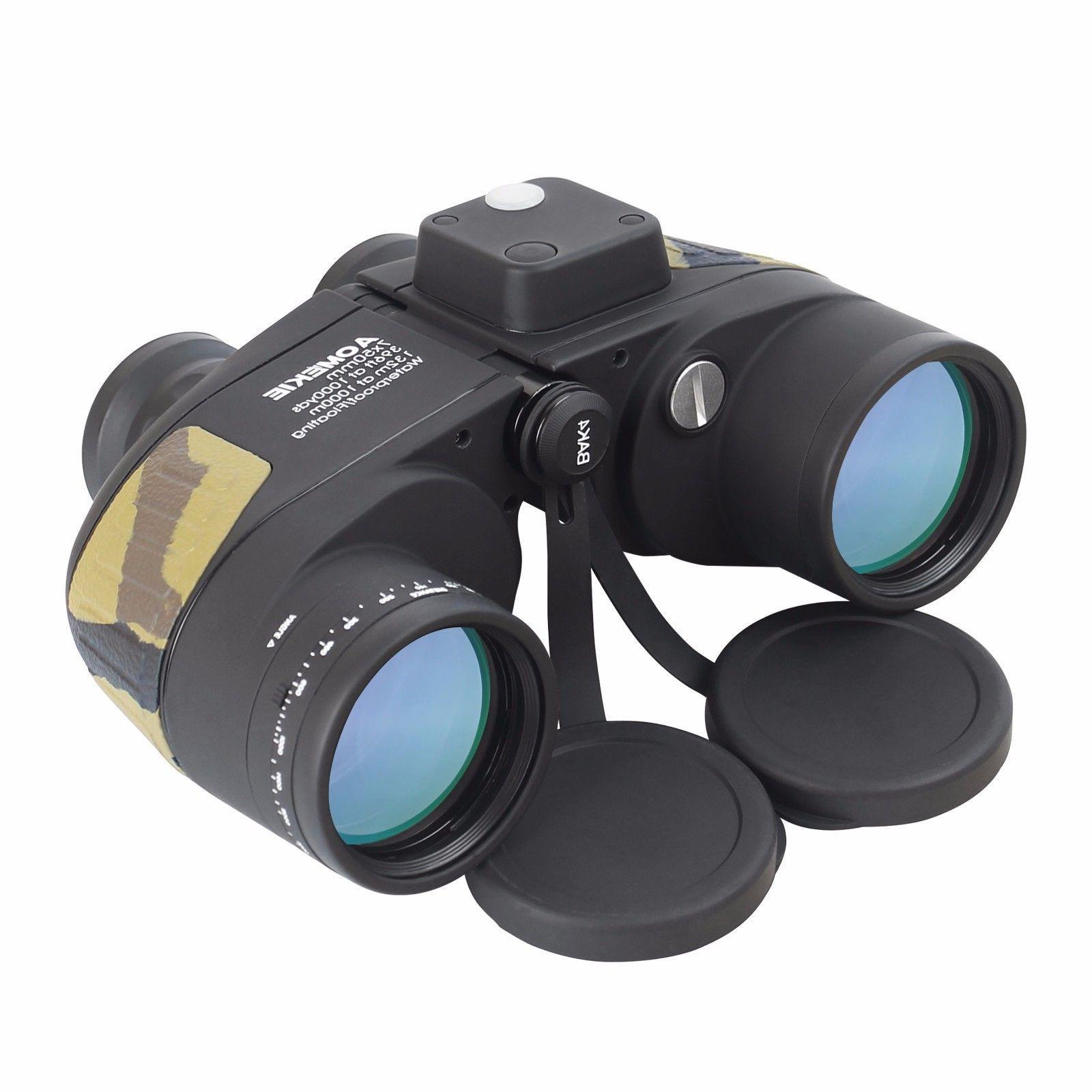 7X50 Military Binoculars For Adults Waterproof Telescope Wit