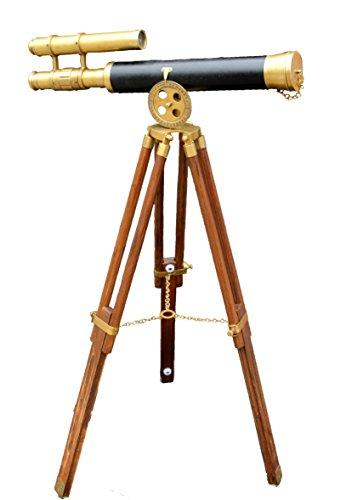 marine navy leather elegant telescope