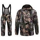 men camo hunting suit