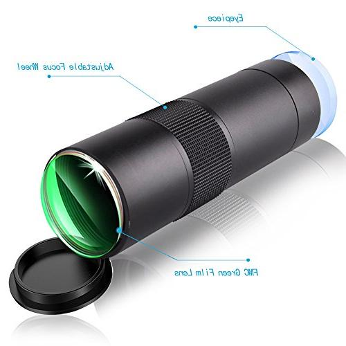 Gosky 8x32 Telescope, HD Monocular for Bird Travelling Camping Hiking and